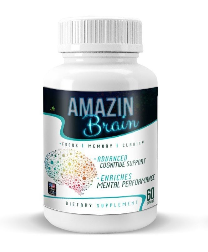 Amazin Brain  Get Amazing Brain Ability Amazin Brain is a brain booster formula for sharp mind clear and focused memory power rate It boo