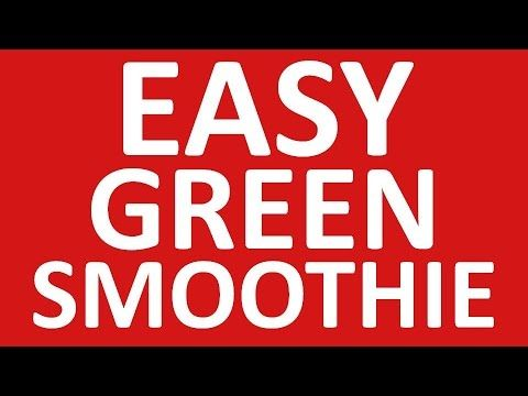 Easy Green Smoothie | * easy green smoothie recipes * - http://www.bestrecipetube.com/easy-green-smoothie-easy-green-smoothie-recipes/