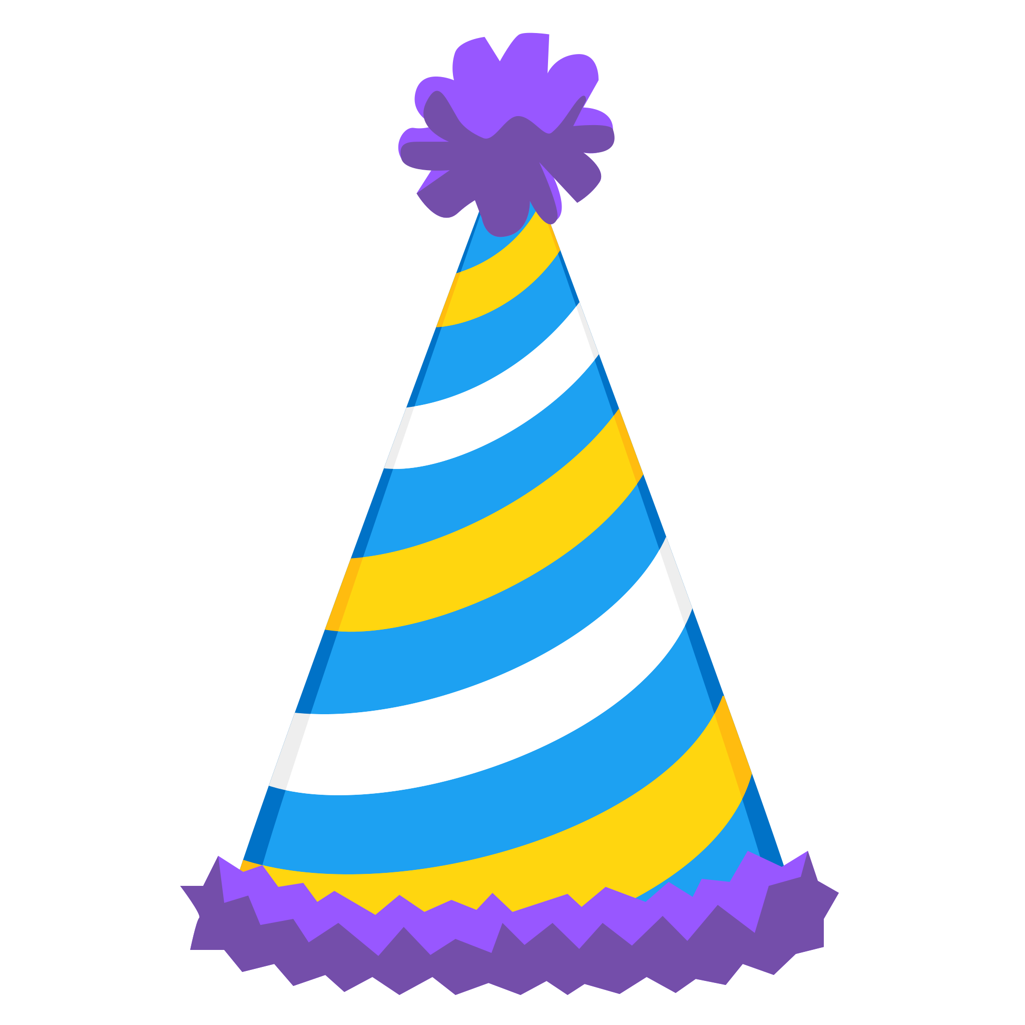 Side tables Birthday Hat Birthday hat, Birthday party