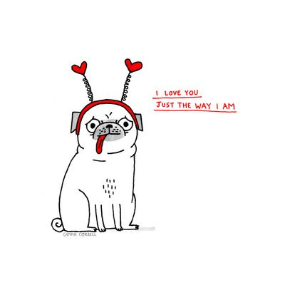 Just the Way I Am by Gemma Correll
