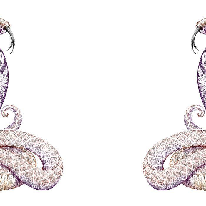 Photo of Tasse de café de tatouage de serpent de Cobra par fantasyartdesigns
