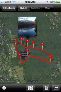 EQUiTrail App - trail riding app for horseback riders for