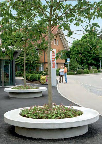Baumpflanzquartiere Baumschutz | Beton Christen AG | Gartenideen ...