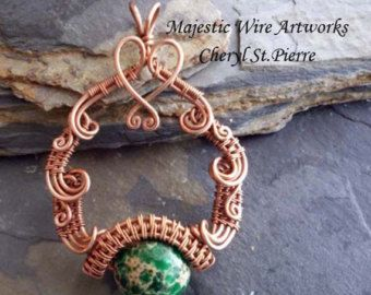 Serenity pendant tutorial by majesticwireartworks on etsy pendant serenity pendant tutorial by majesticwireartworks on etsy aloadofball Gallery