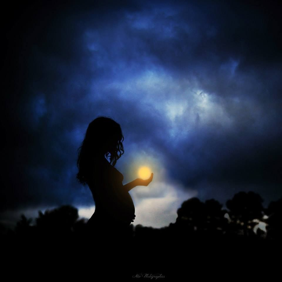 The firefly and the moon by Niiv photography