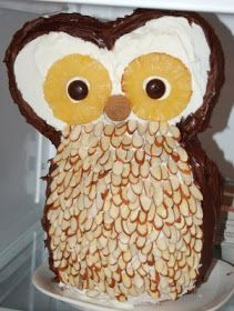 Be Different...Act Normal: Owl Cake