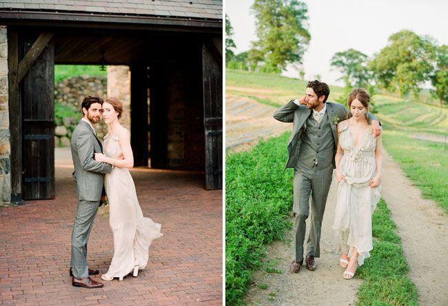 Green Formal Dresses for Rustic Wedding