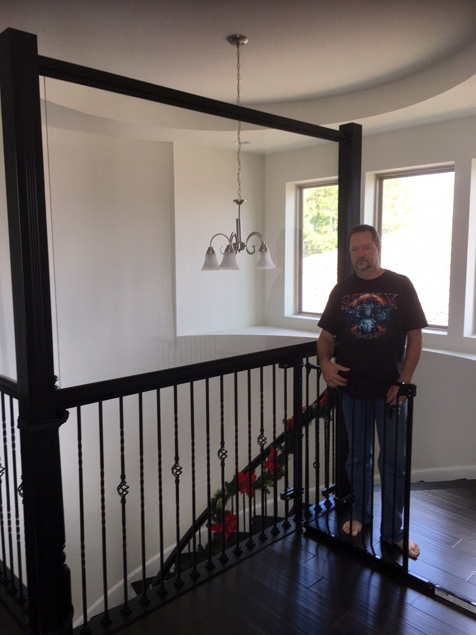 Banister Safety in 2019 Loft wall, Banisters, Baby gates