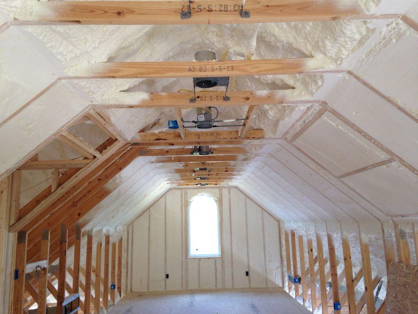 Spray Foam Insulation In Bonus Room Spray Foam Insulation Foam Insulation Craftsman Style Home