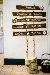 Leitfaden zur Hochzeit, #diyhochzeitfotowand #Wochzeit #Wegweiser #zur