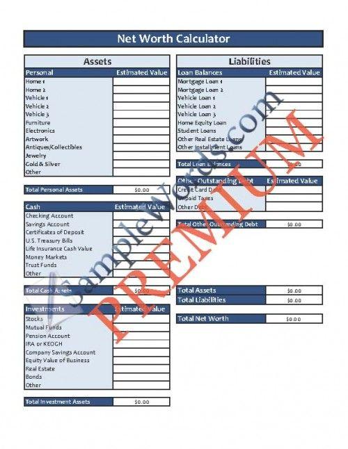 Bill Organizer Template Organizing and Organisations - loan calculator template