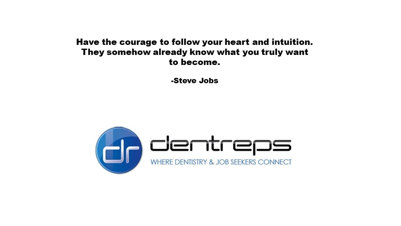 Steve jobs job seeker intuition