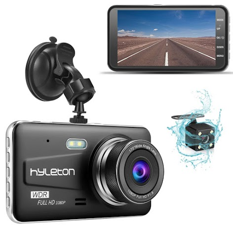 1080P Dash Camera for Cars 3 Inch LCD Screen Dual Dash Cam with Night Vision 170/° Wide Angle Dashboard Camera Motion Detection Parking Monitor G-Sensor Dash Cam Front and Rear Include 32GB SD Card