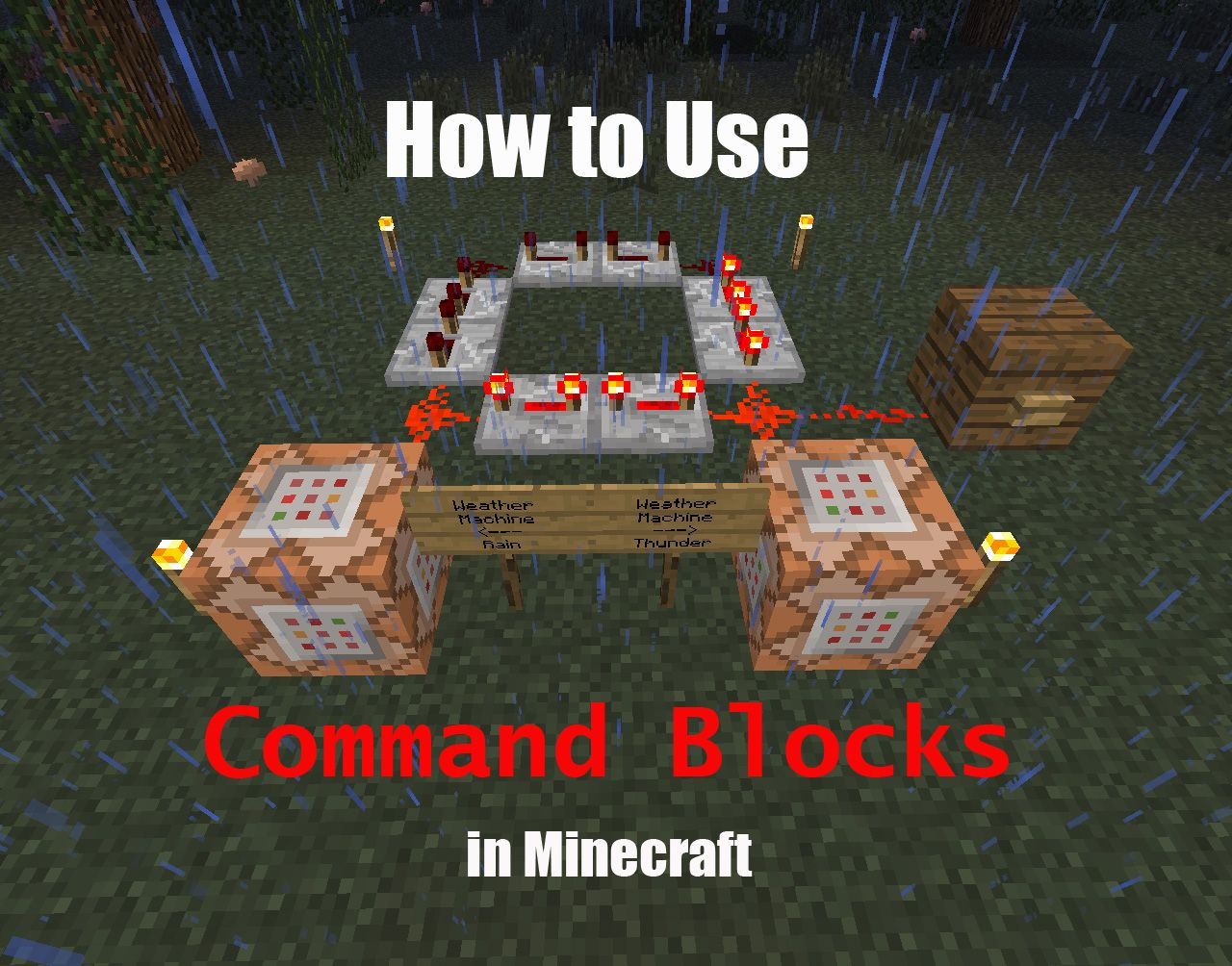 Minecraft Creative Tips Tricks: How To Use Command Blocks In Minecraft
