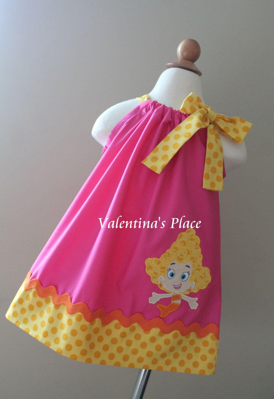 Super+cute+Bubble+Guppies+Deema+pillowcase+by+Valentinasplace,+$ ...