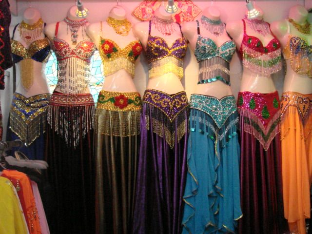 bellydancing outfits!