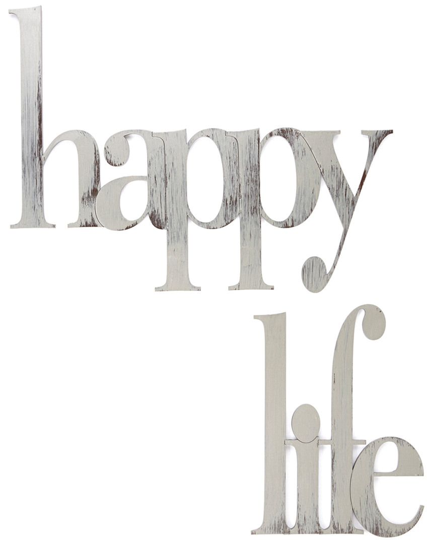 Happy Life Wall Décor by Sally Dailey  is on Rue. Shop it now.