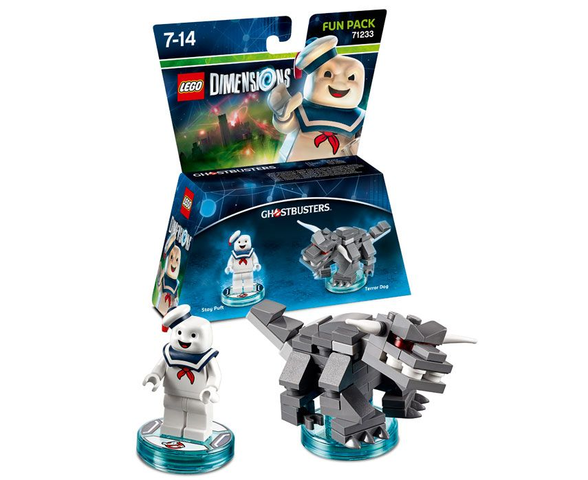 LEGO Ghostbusters Dimensions Stay Puft Minifigure fun pack 71233 marshmallow man