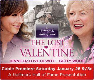 Barb S Cafetoday The Lost Valentine Jennifer Love Hewitt Hallmark Movies Betty White