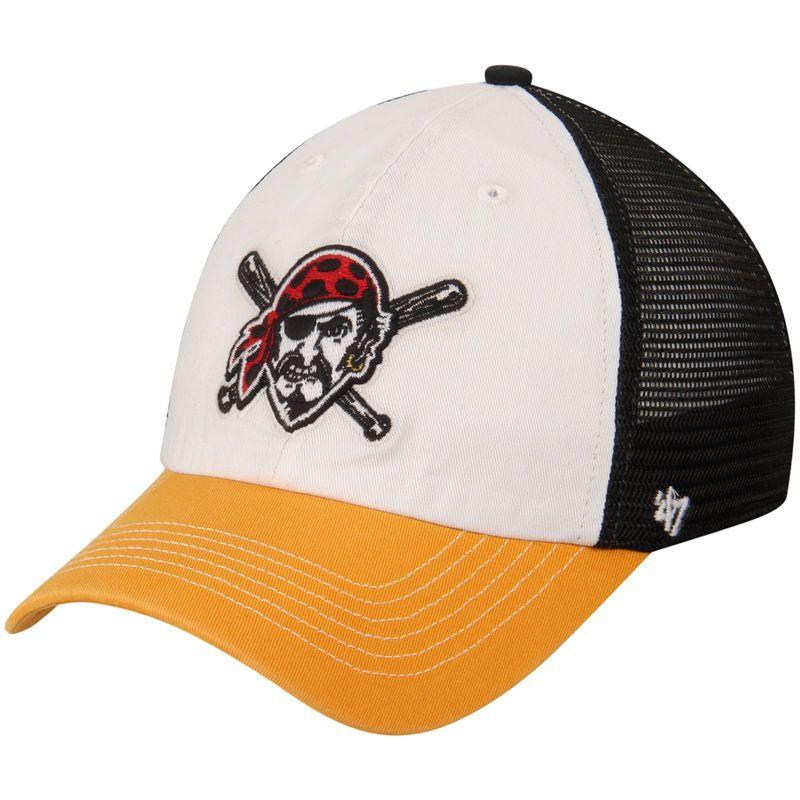 best cheap 48efc 3f67f ... greece pittsburgh pirates 47 mckinley closer flex hat white gold cd90c  32ee9