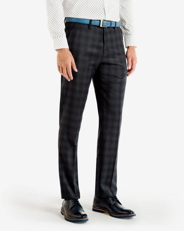 23f33b3e8fee88 checked trouser with printed shirt, Upgrade your look with printed shirt  goes with checked pant