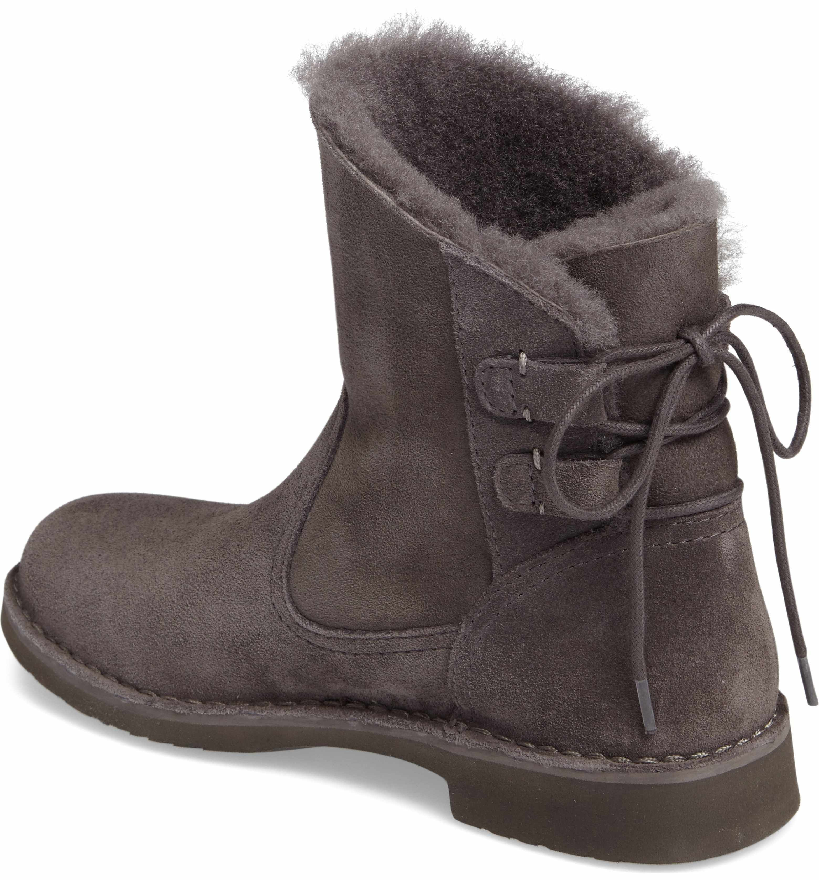 2f3c882d5d2 Main Image - UGG® Naiyah Lace-Back Genuine Shearling Boot (Women ...