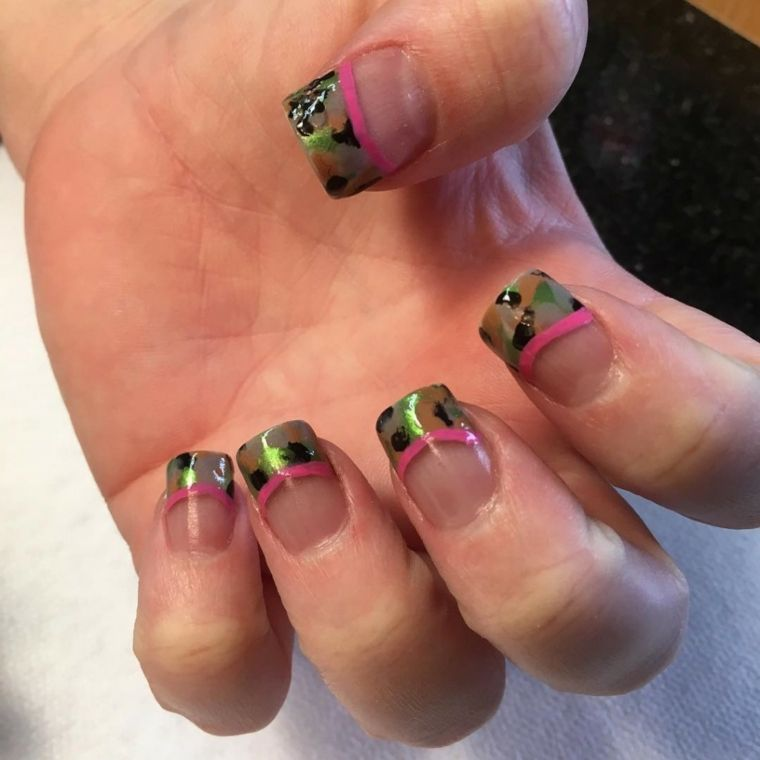 Inspirational 30 french tip nail designs for summer 2017 best nail ...