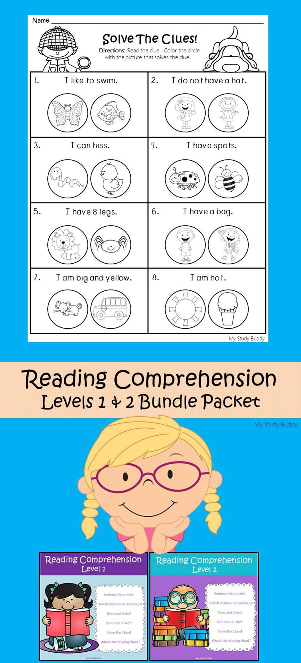 Reading Comprehension Bundle (Differentiated Literacy