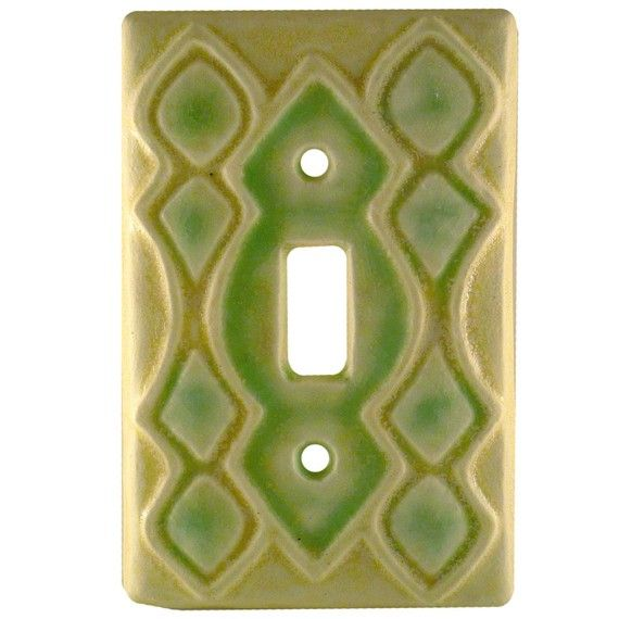 Ceramic Moroccan Light Switch Plate Ceramics Light Switch Plates