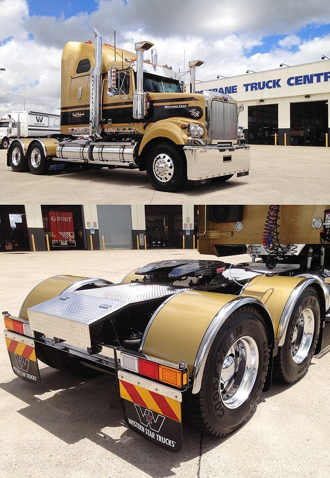 Geoff Richards Gold Big Trucks Trucks Western Star Trucks