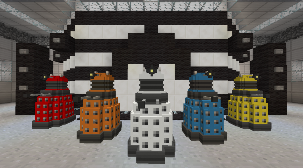 Minecraft Goes Wibbly Wobbly Timey Wimey Doctor Who
