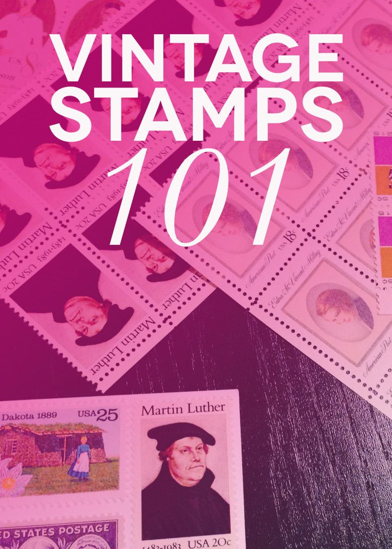 How to Find Vintage Stamps for Classic-Inspired Wedding Invitations
