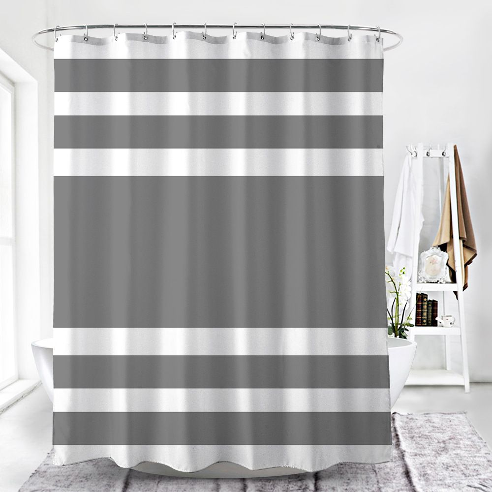 Shower Curtain With Magnets Shower Curtain With Magnets Shower