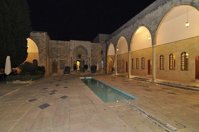 Lebabob, Chouf, Beiteddine, Palace Mir Amine Hotel by Serge Melki, via Flickr