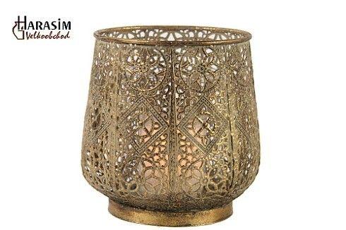 Kovový svícen zlatý S: http://www.harasim.info/82607/kovovy-svicen-zlaty-s.html