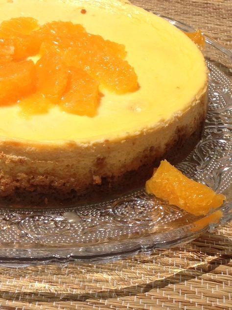 cheesecake à l'orange et aux speculoos (avec images ...