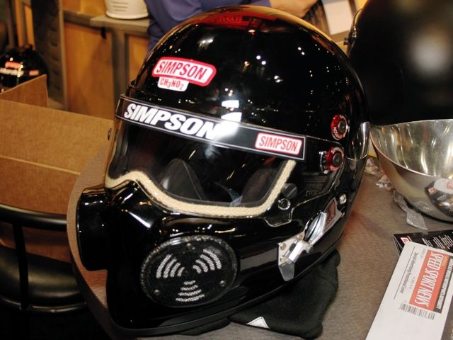Drag Racing Helmets >> Simpson Ch3no2 Helmet Meant For Drag Racing But A Motorcycle