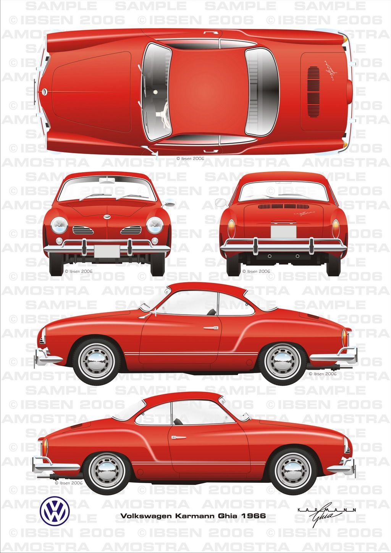 Volkswagen Karmann Ghia 1966.jpg 1.024×1.448 pixels | Clássicos ...