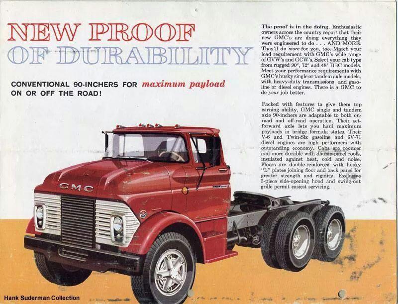 G.M.C.  NEW for: 1960 brochure