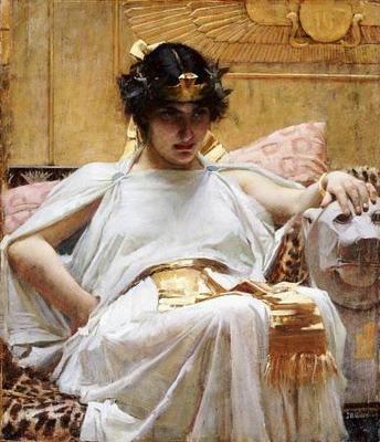 John William Waterhouse (1849-1917), Cleopatra, 1888
