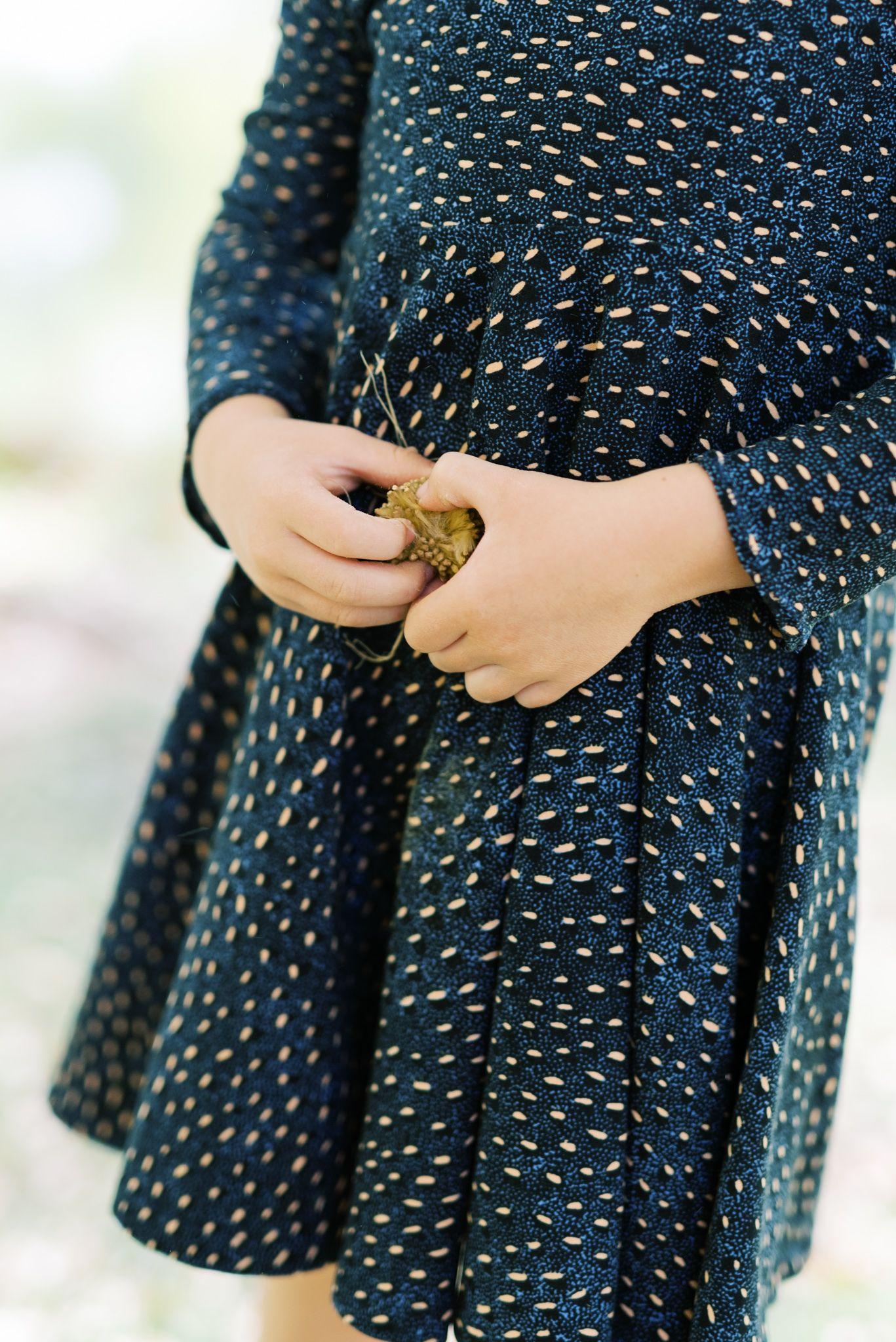 Navy Abstract Animal Print Fall and Winter Twirly Dress #navyblueshortdress