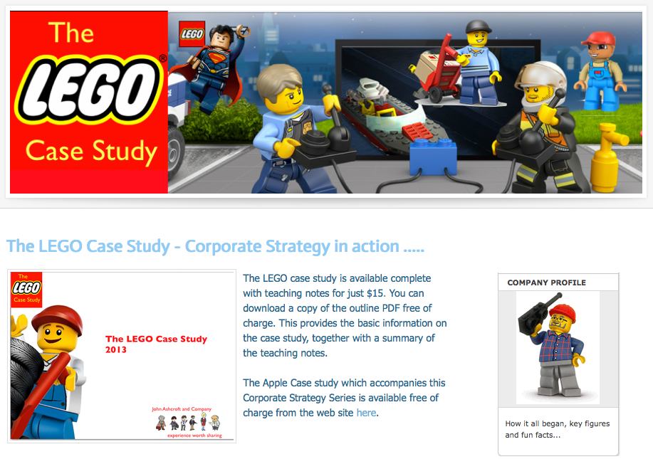 lego case study of innovation Sustaining innovation and disruptive innovation – case lego  and in 1995 conducted a study on how to move into this new space  practice disruptive .