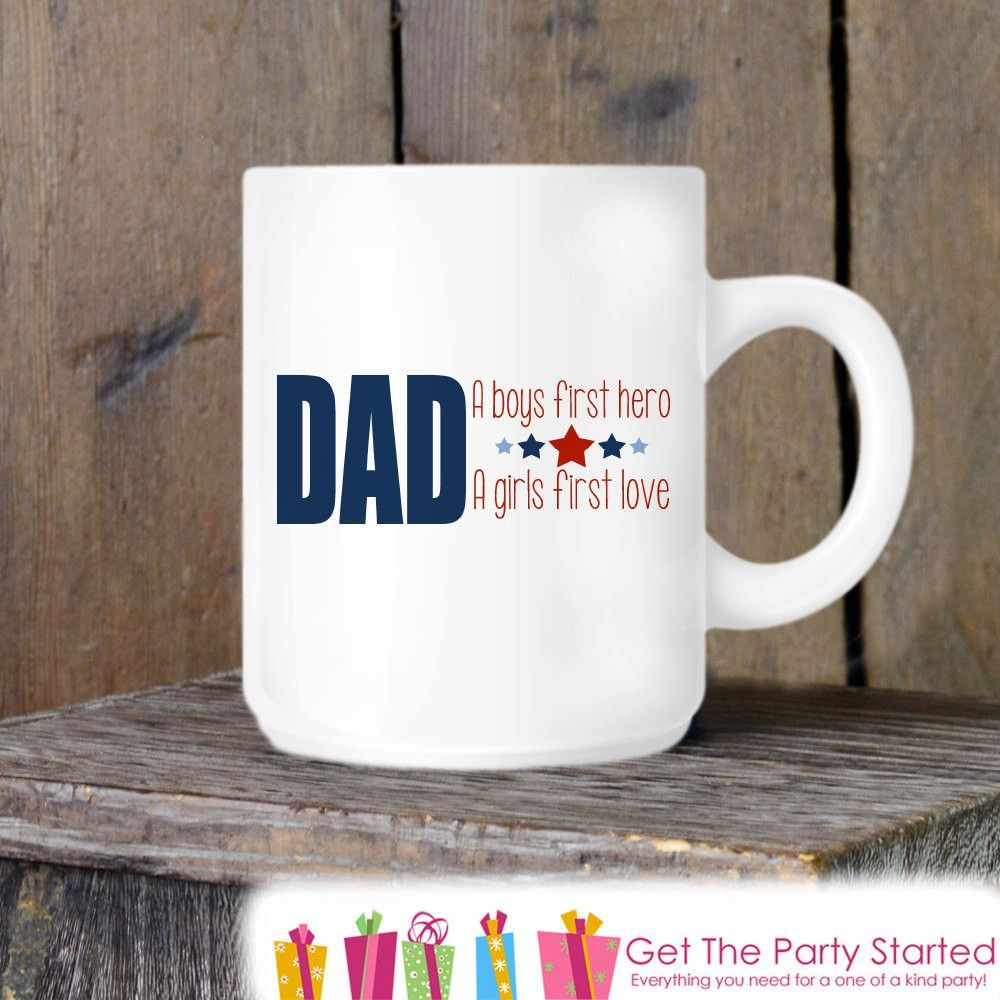 Coffee Mug, Father\'s Day Mug, Dad Hero Mug, Novelty Ceramic Mug ...