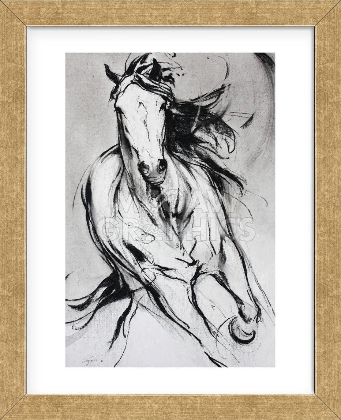 Horse Art Print Majestic I Amy Goodman