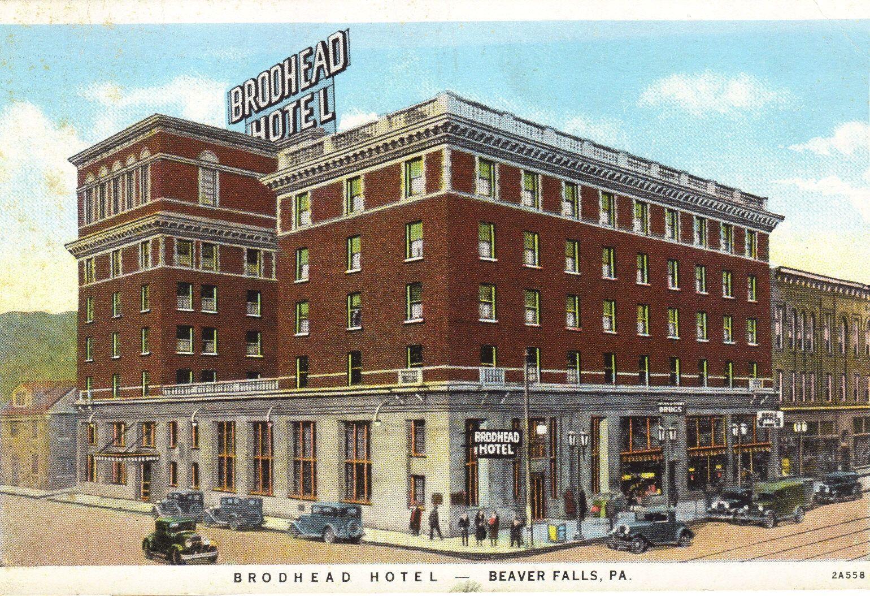 Old Broadhead Hotel In Beaver Falls