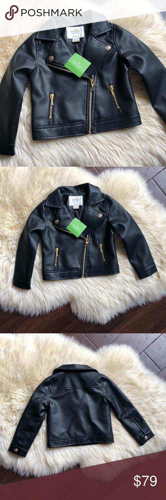Nwt Kate Spade Toddler Faux Leather Moto Jacket 3t Faux Leather Moto Jacket Kate Spade Jacket Moto Jacket [ 1740 x 580 Pixel ]