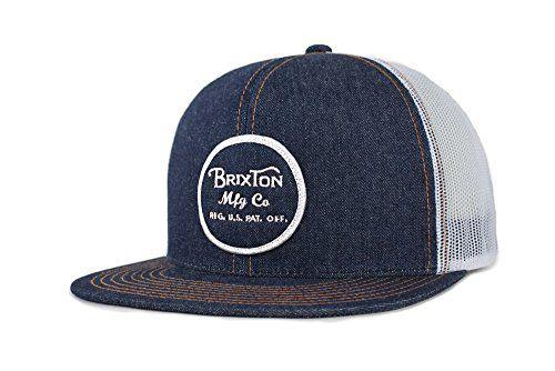 20cafcf3eeb New Brixton Men s Wheeler Medium Profile Adjustable Mesh Hat. Men Hats    21.56 - 30.36 topbrandsclothing