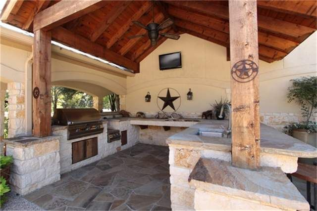Outside Kitchen Summer Kitchen Covered Patio Porch Grill Texas Style Outdoor Kitchen Modern Outdoor Kitchen Outdoor Kitchen Appliances