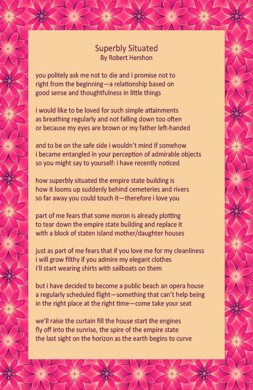 I Heard This Quirky Poem Read As A Wedding Ceremony Reading Recently And Wanted To Be Sure Share It With You Especially Love The Imagery