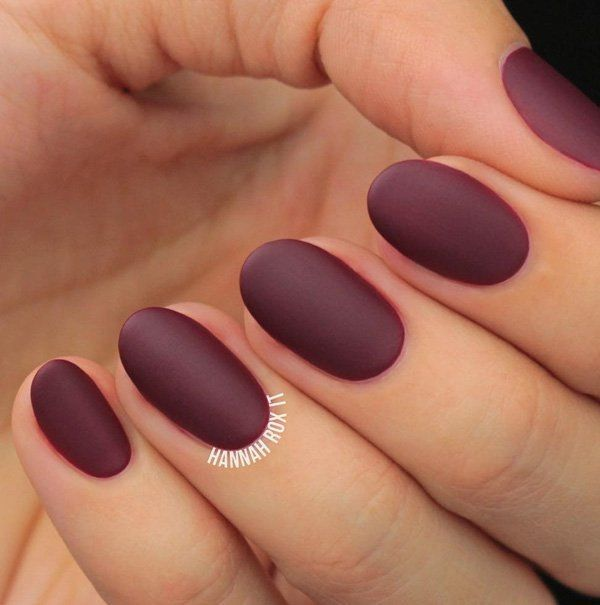 40 Cool Matte Nail Art Designs You Need To Try Right Now | Pinterest ...